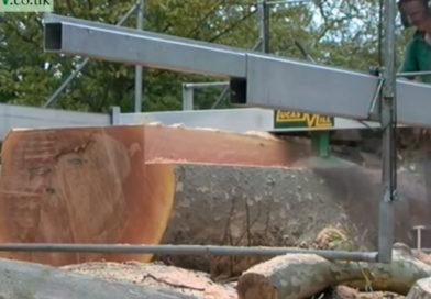 Aserrando madera por los cuatro costados